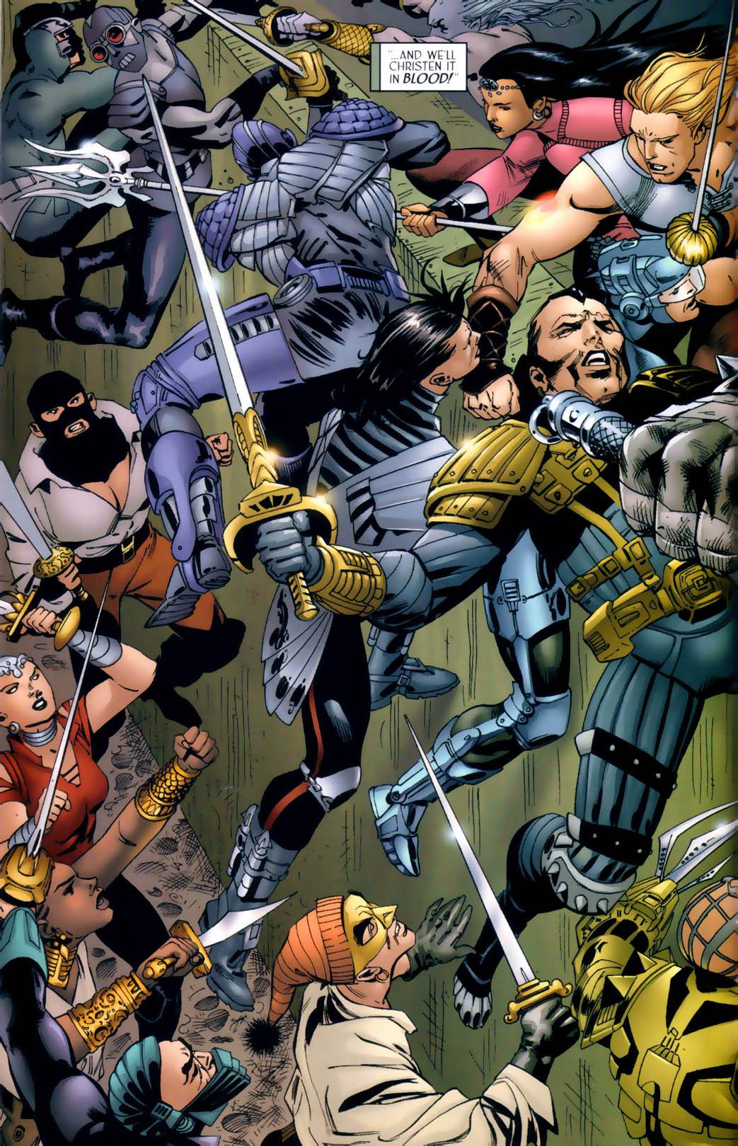 Read online Scion comic -  Issue #30 - 14