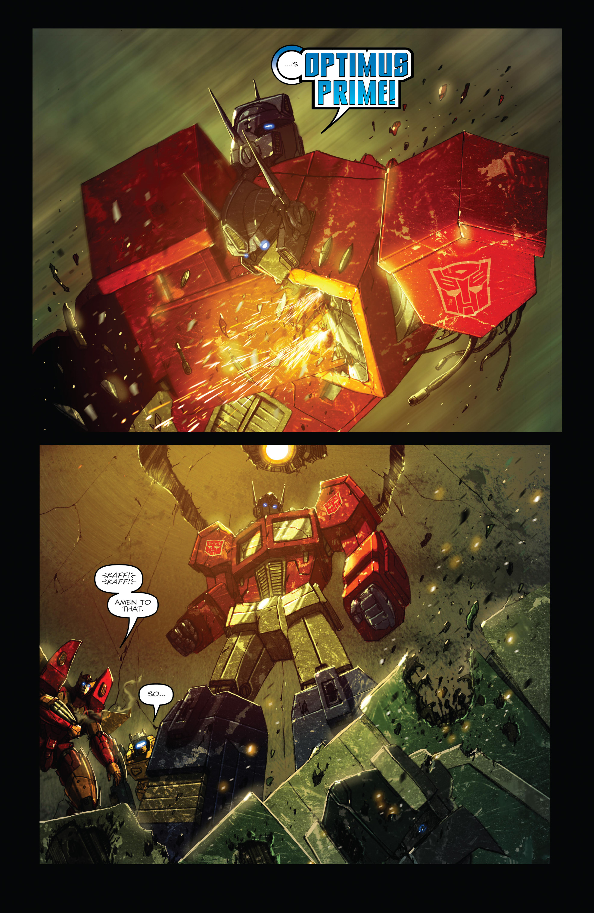Read online The Transformers: Dark Cybertron Finale comic -  Issue # Full - 69