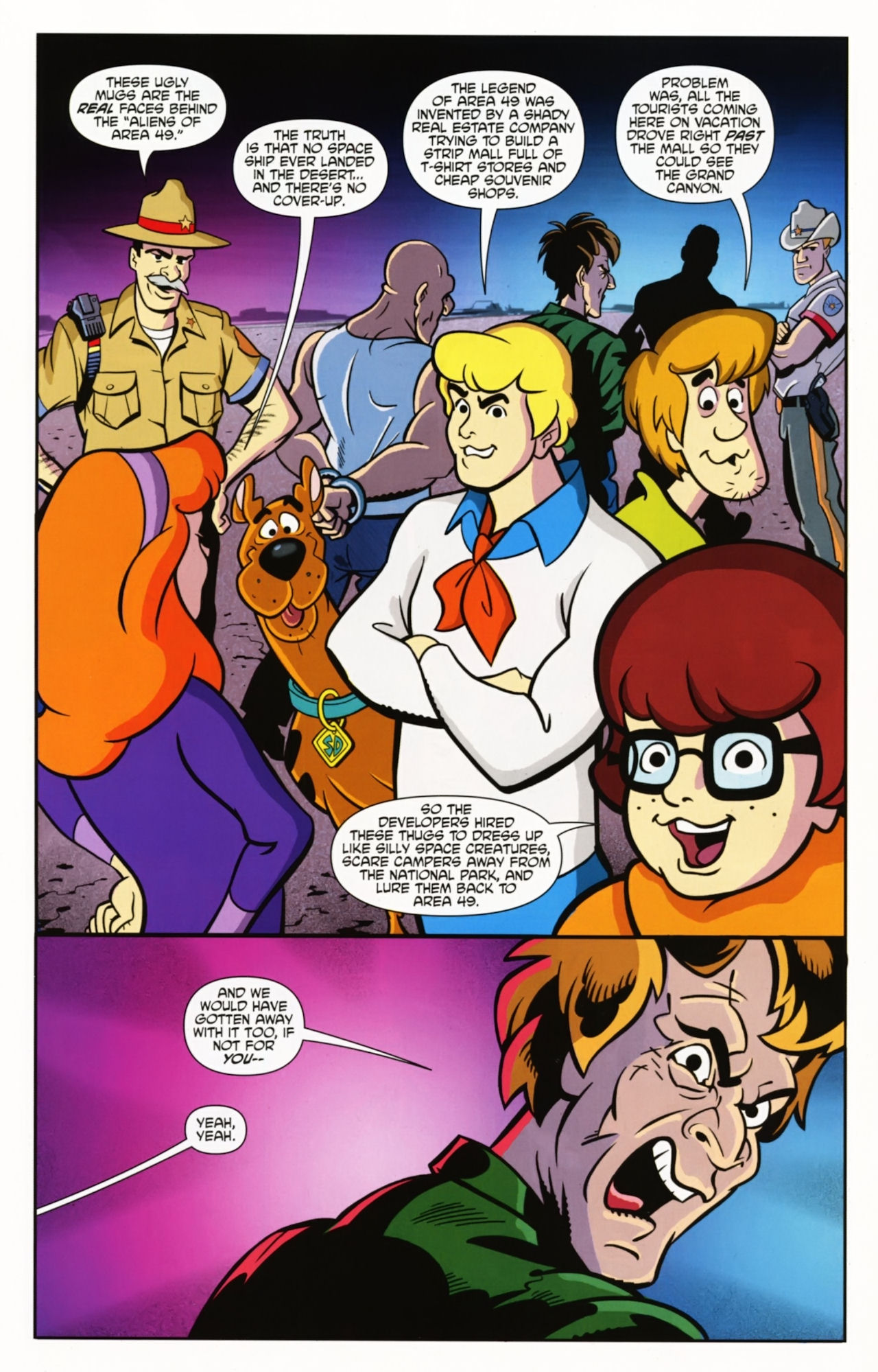 Read online Scooby-Doo: Where Are You? comic -  Issue #2 - 12
