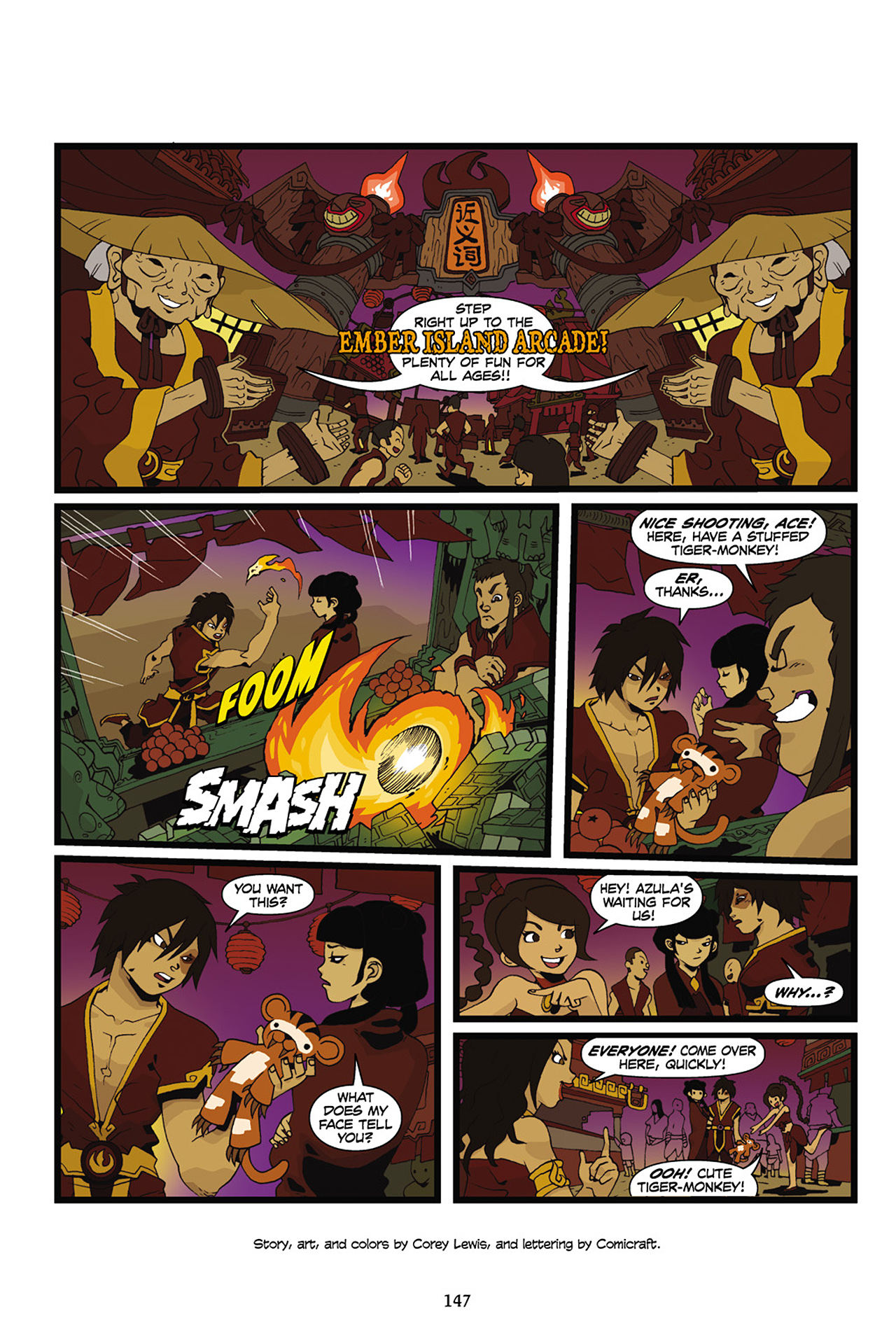 Nickelodeon Avatar: The Last Airbender - The Lost Adventures chap full pic 148