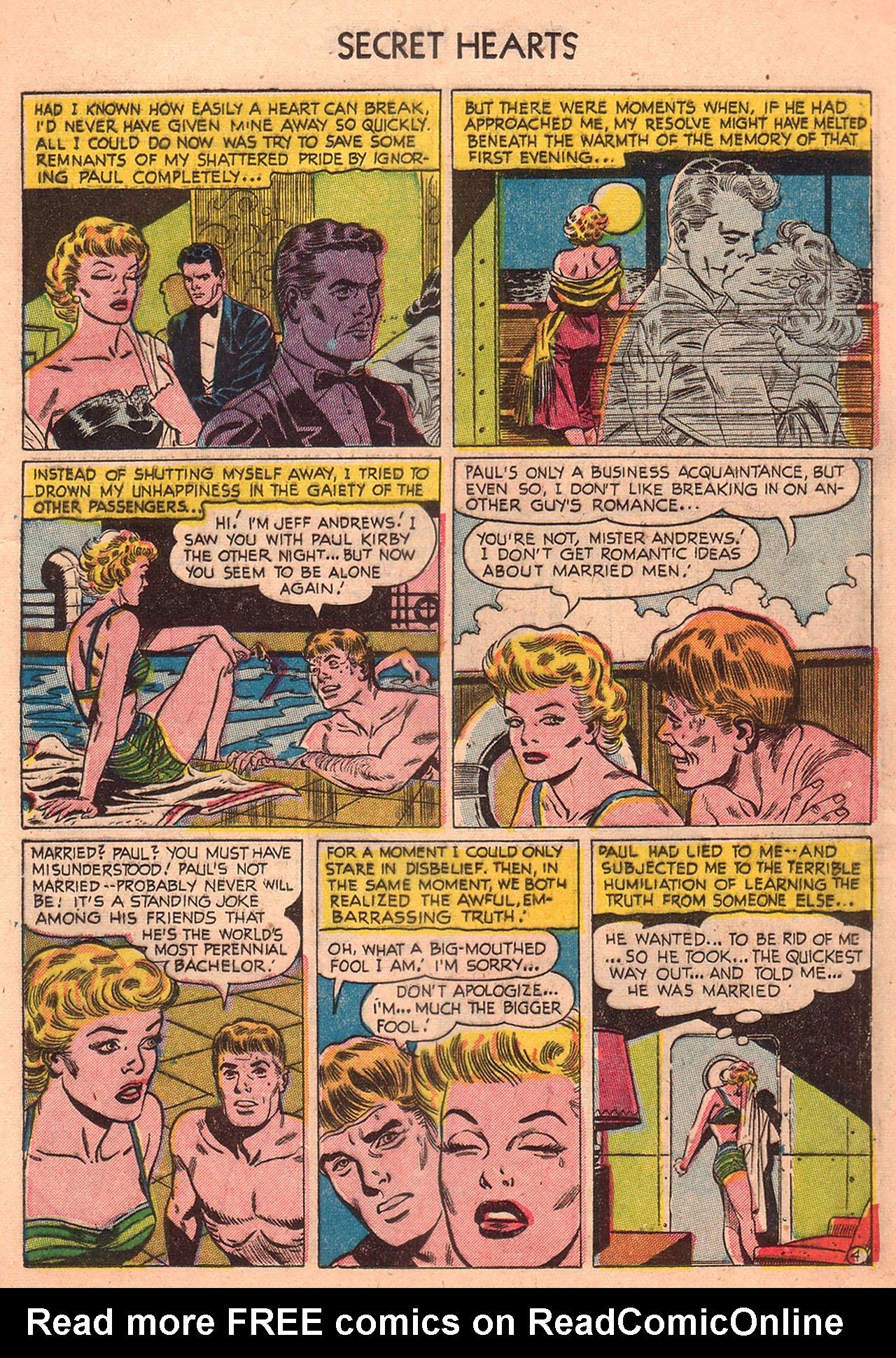 Read online Secret Hearts comic -  Issue #23 - 13