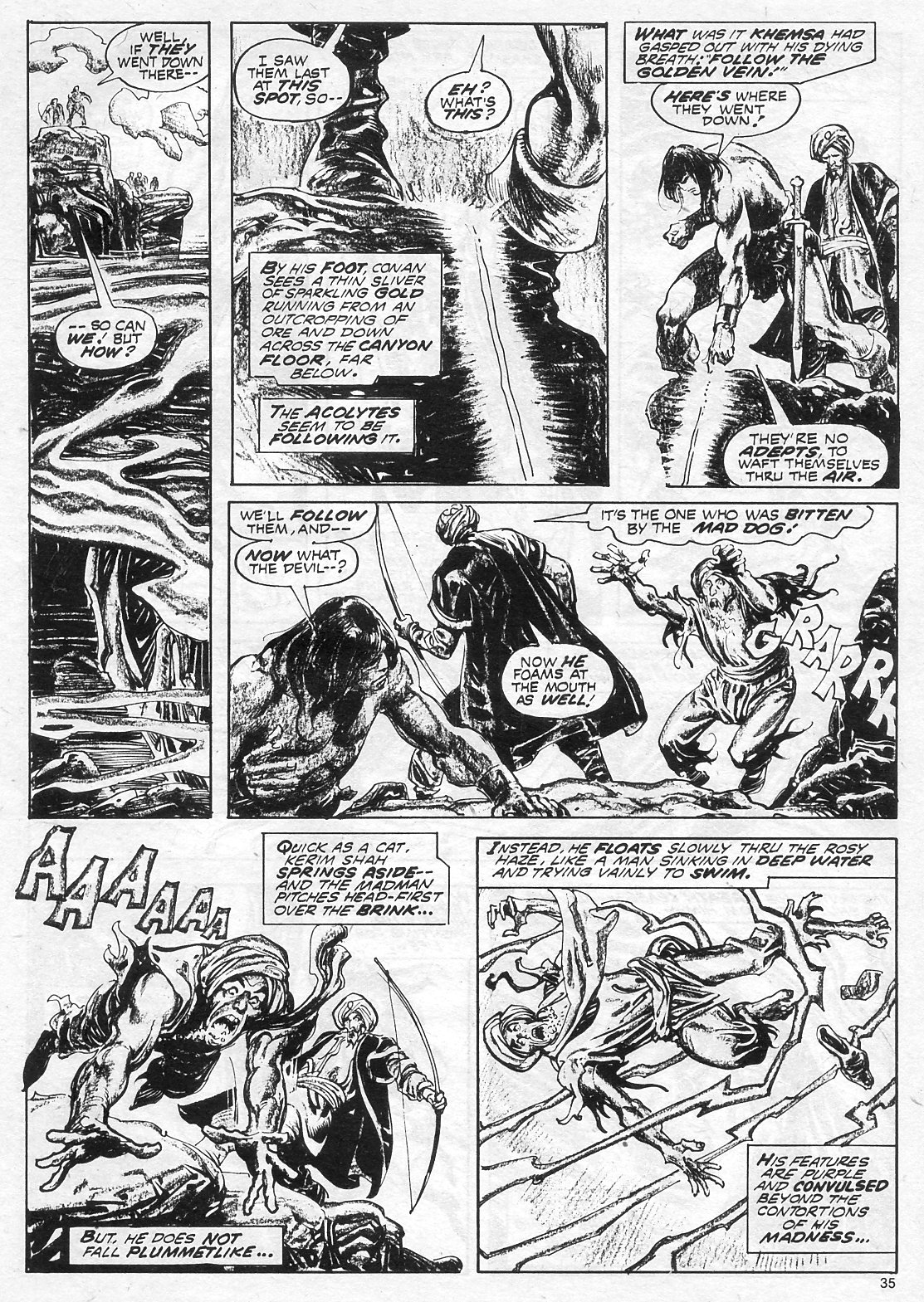 The Savage Sword Of Conan Issue #18 #19 - English 35