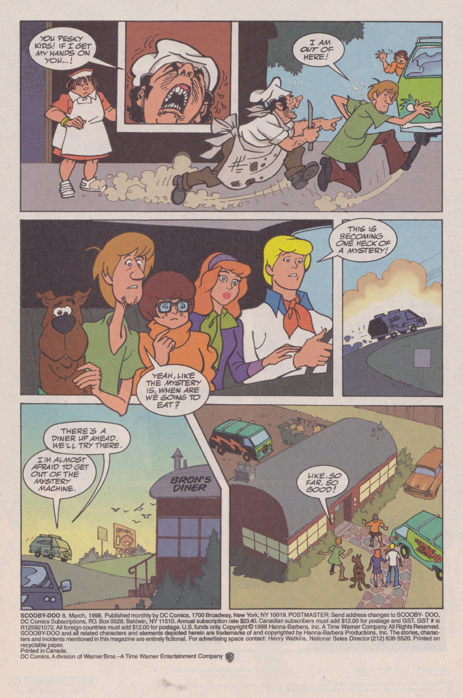 Read online Scooby-Doo (1997) comic -  Issue #8 - 4