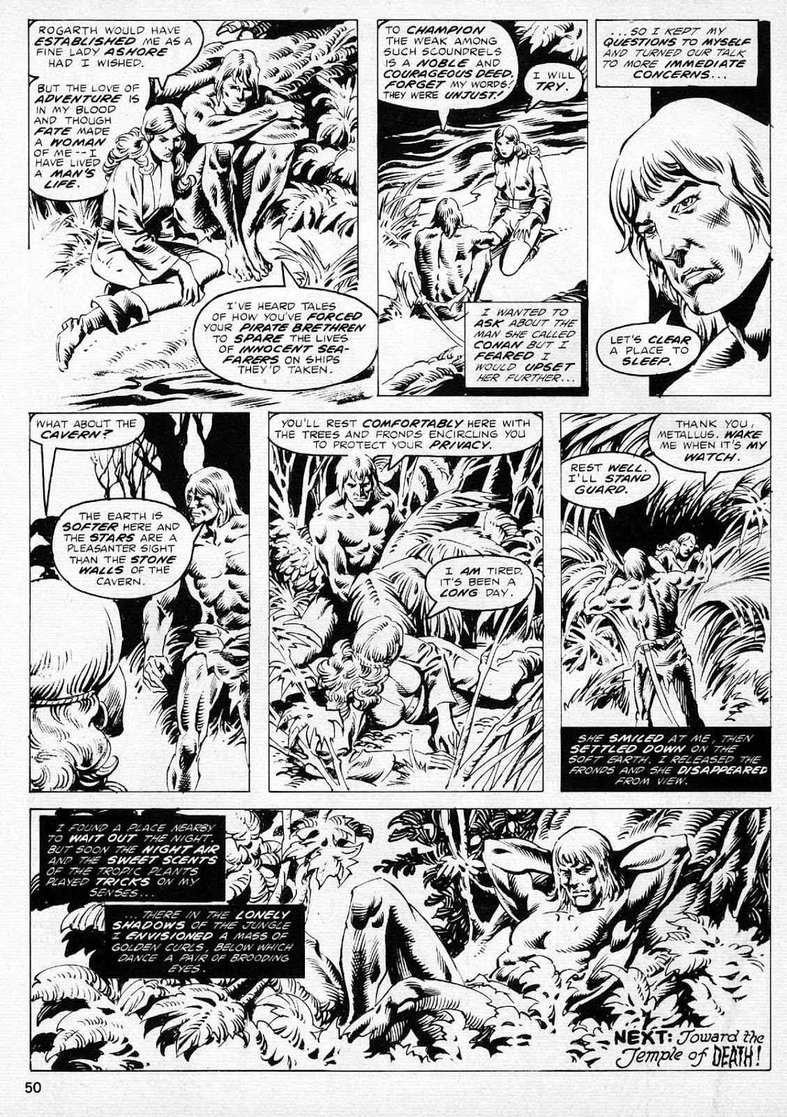 The Savage Sword Of Conan Issue #77 #78 - English 49