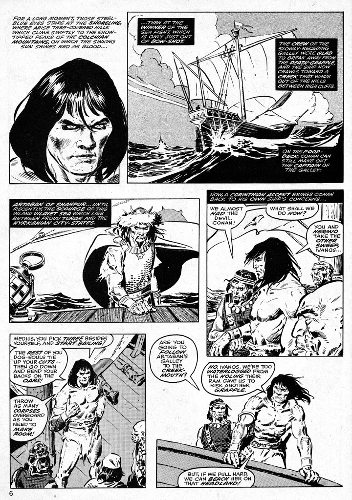 The Savage Sword Of Conan Issue #38 #39 - English 6