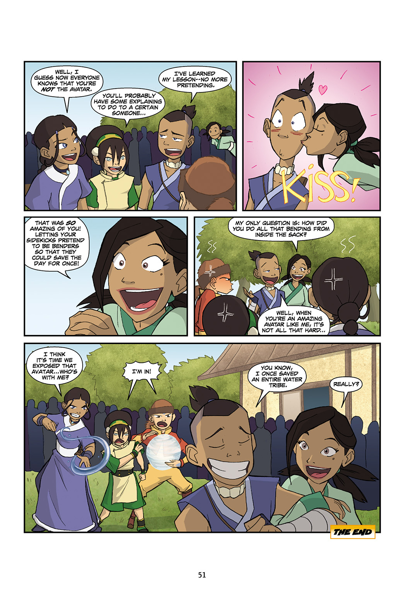 Nickelodeon Avatar: The Last Airbender - The Lost Adventures chap full pic 52
