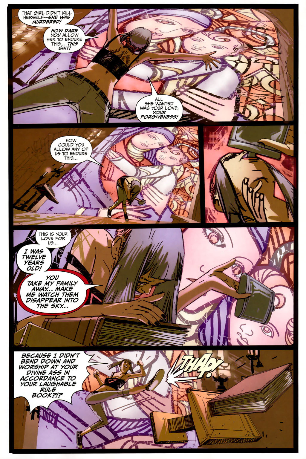Strange Girl Issue #6 #7 - English 15