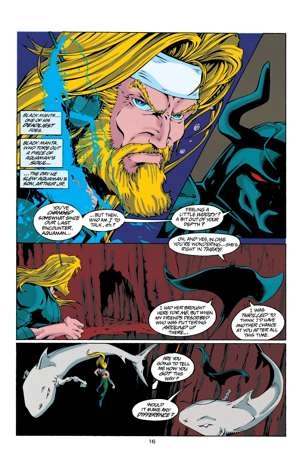 Aquaman (1994) Issue #29 #35 - English 16