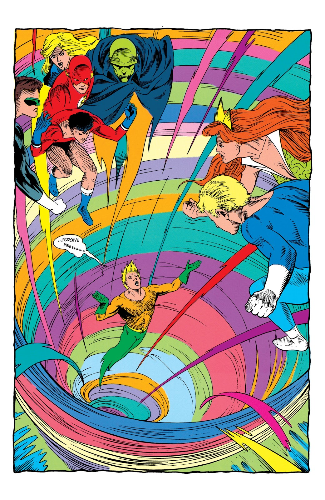 Aquaman (1991) Issue #7 #7 - English 21