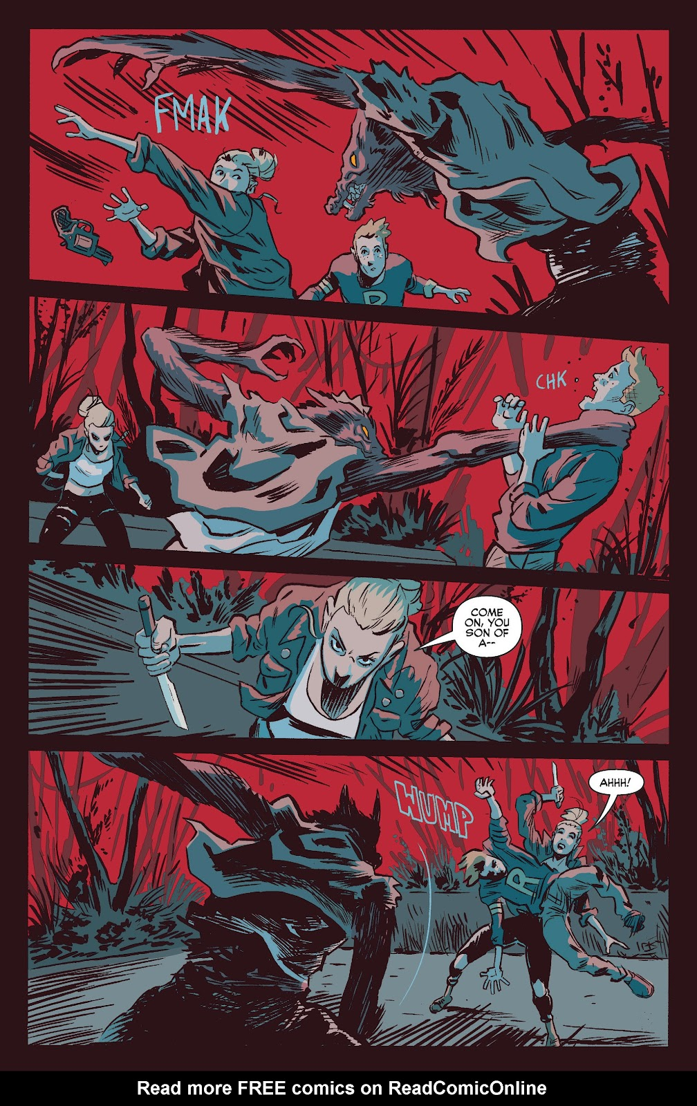 Jughead The Hunger Issue #0 #1 - English 36