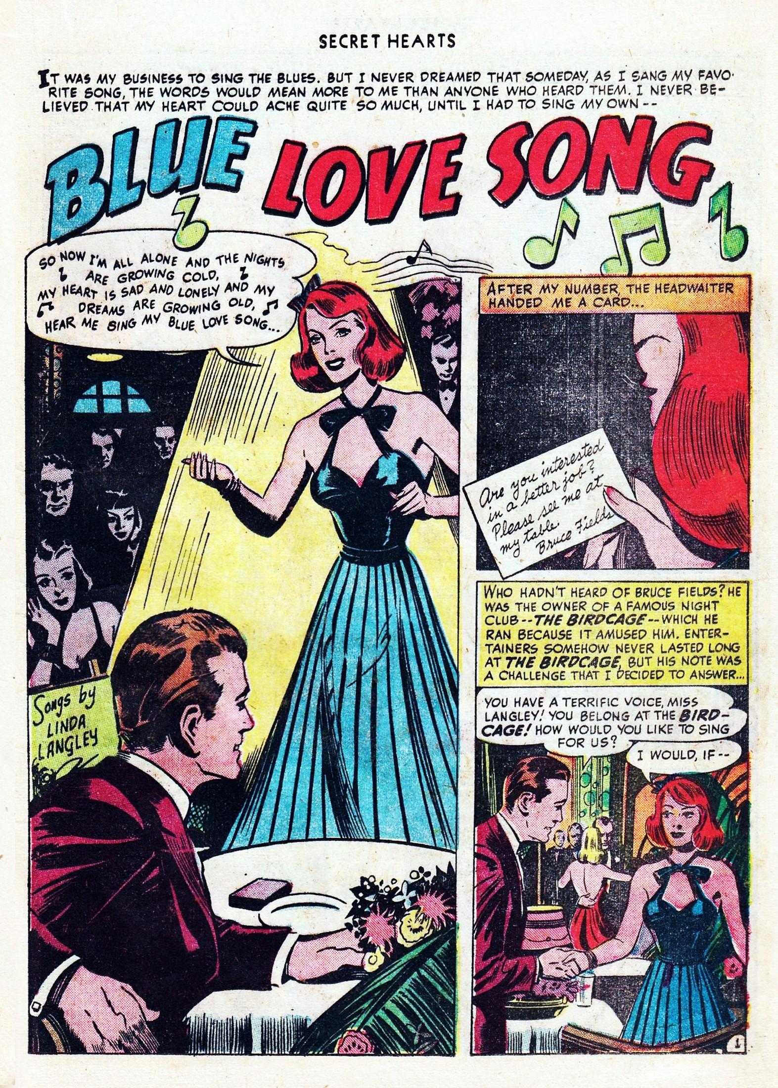 Read online Secret Hearts comic -  Issue #1 - 23