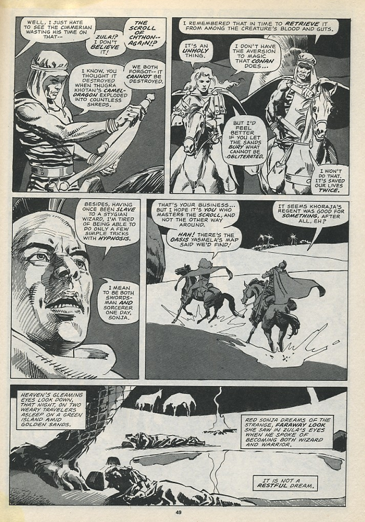 The Savage Sword Of Conan Issue #194 #195 - English 51
