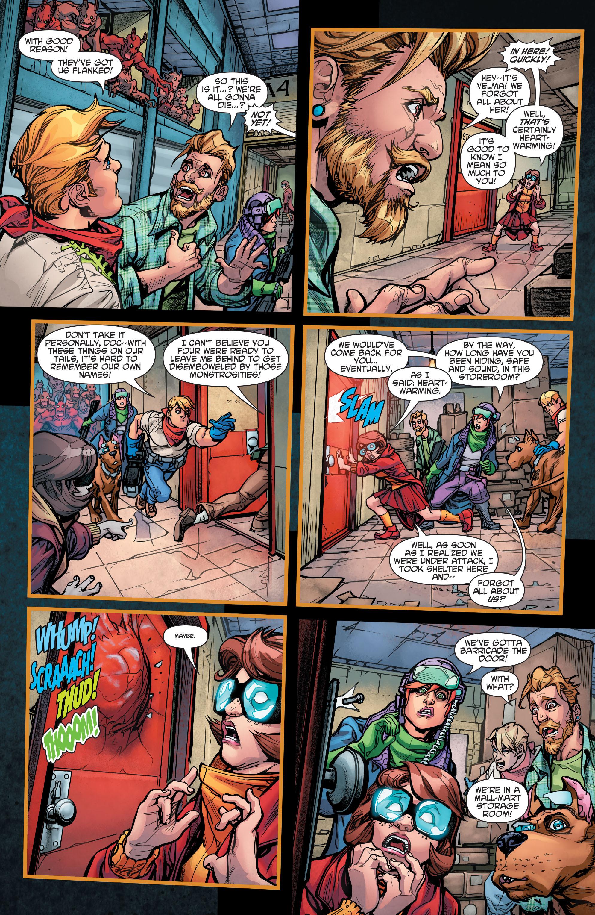 Read online Scooby Apocalypse comic -  Issue #5 - 10
