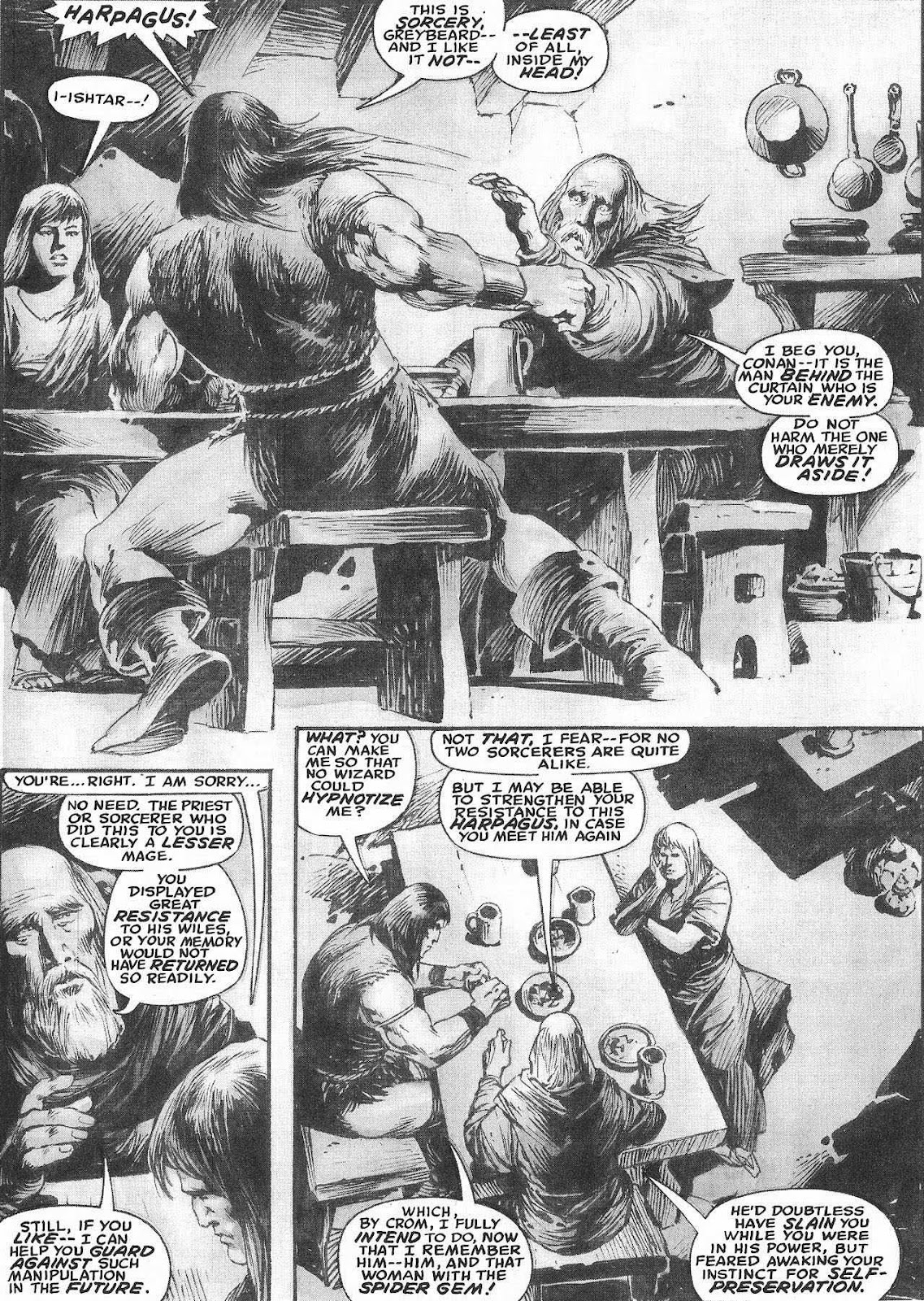 The Savage Sword Of Conan Issue #207 #208 - English 32