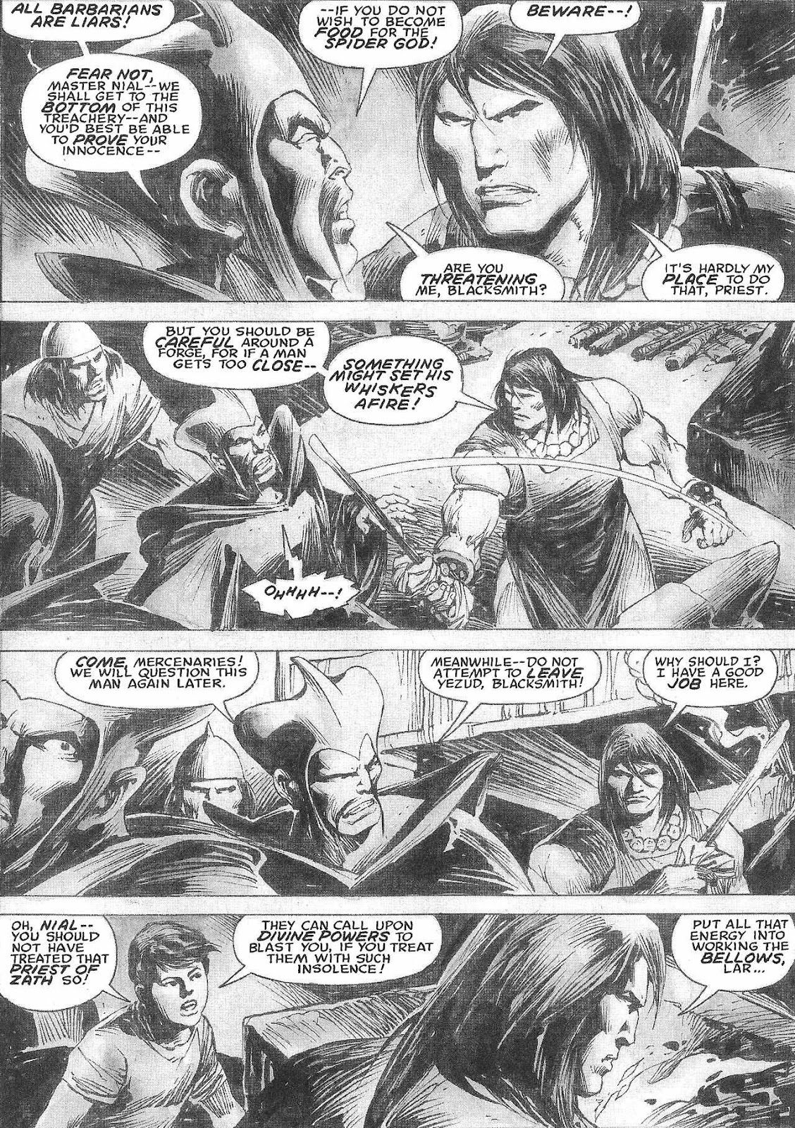 The Savage Sword Of Conan Issue #209 #210 - English 46