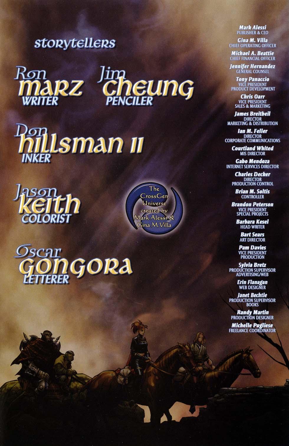 Read online Scion comic -  Issue #32 - 23