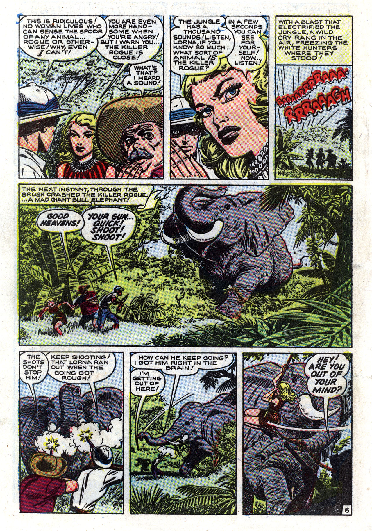 Read online Lorna, The Jungle Queen comic -  Issue #2 - 8