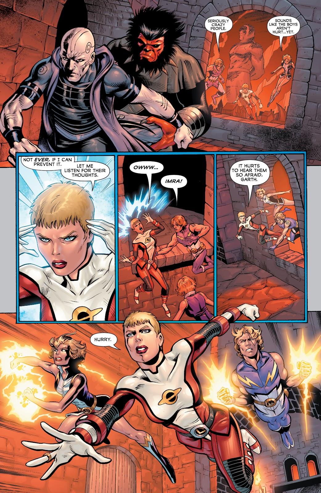 Legion of Super-Heroes (2010) Issue #4 #5 - English 7