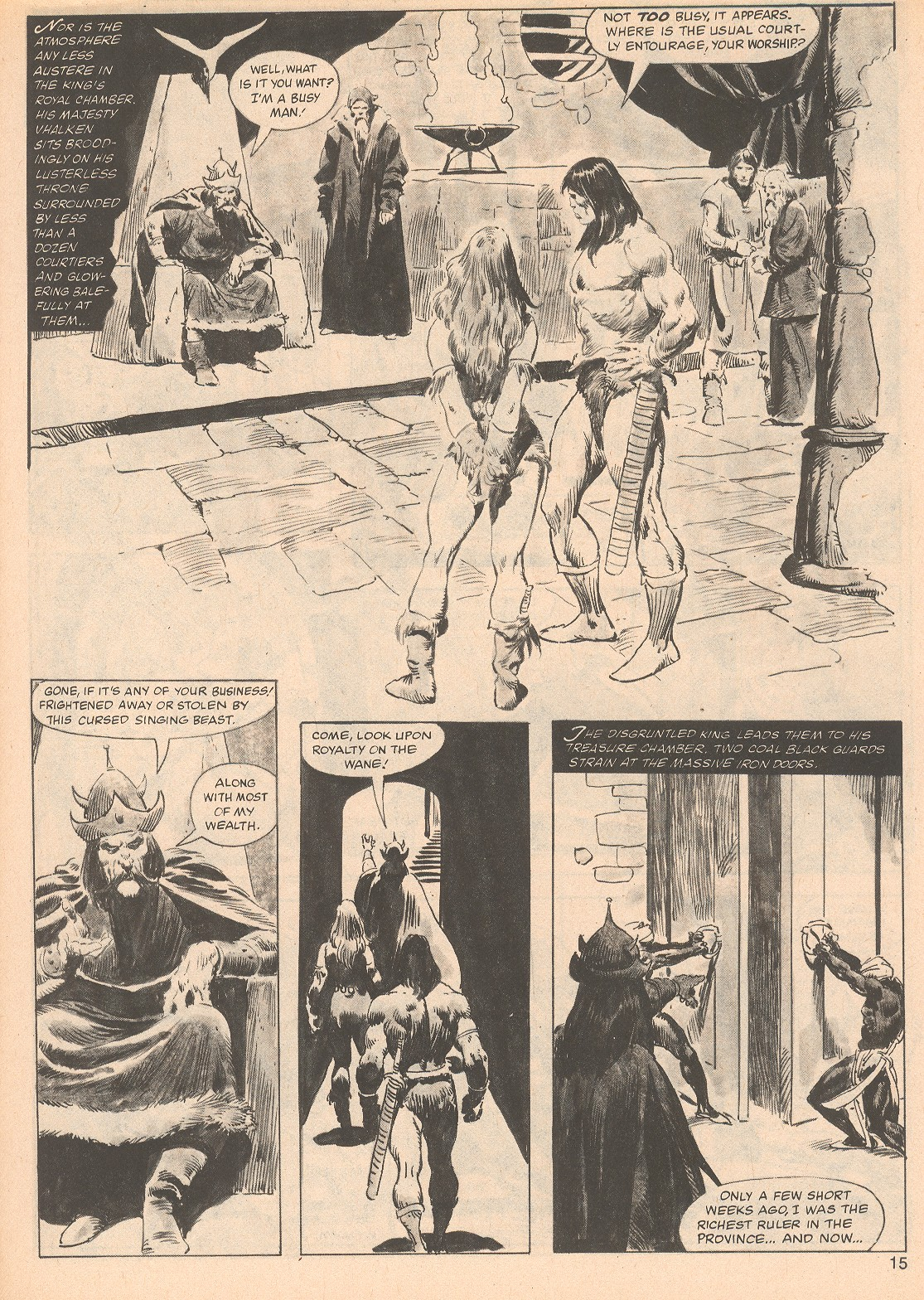 The Savage Sword Of Conan Issue #70 #71 - English 15