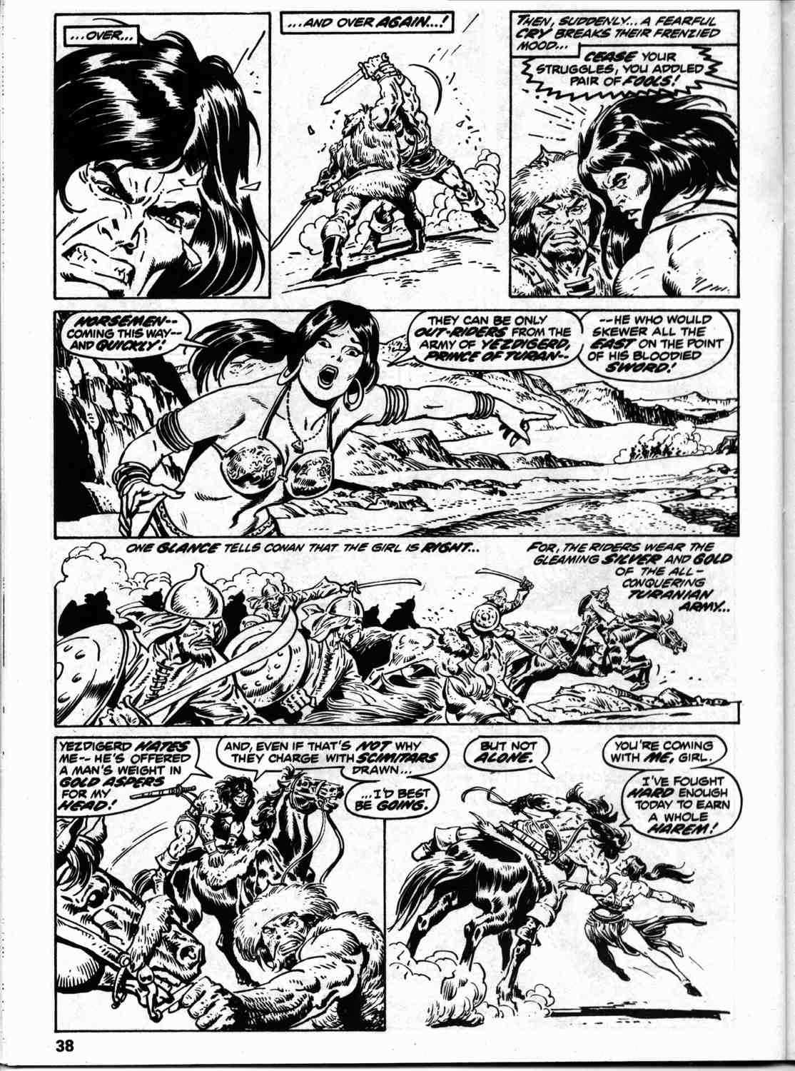 The Savage Sword Of Conan Issue #59 #60 - English 45