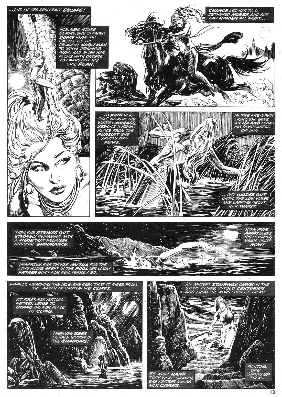 The Savage Sword Of Conan Issue #15 #16 - English 13