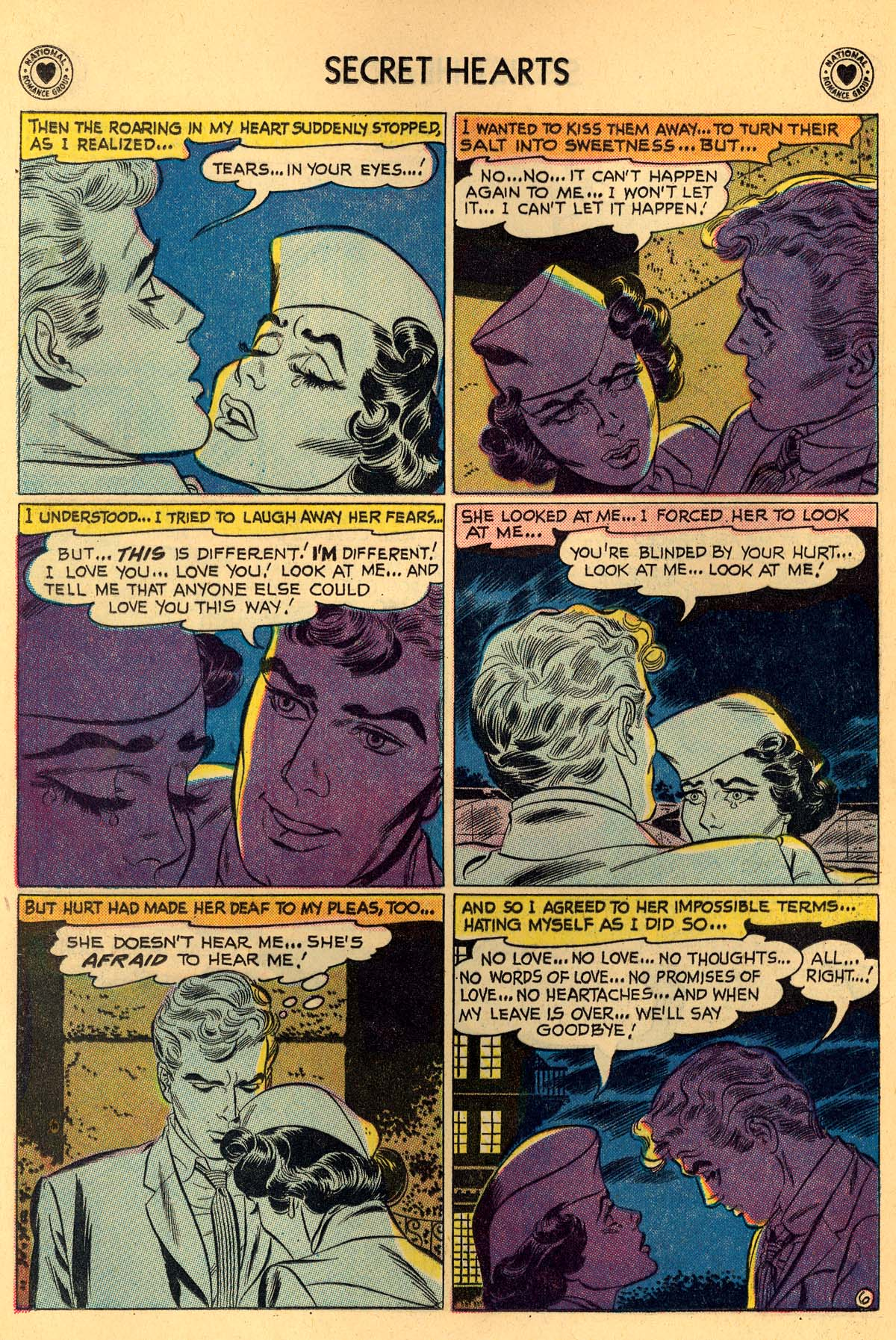 Read online Secret Hearts comic -  Issue #55 - 8