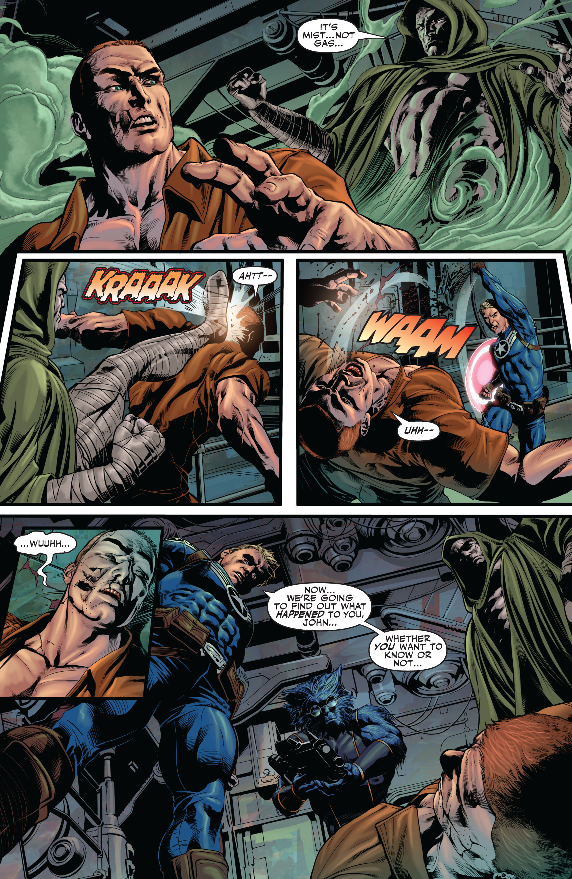 Read online Secret Avengers (2010) comic -  Issue #12 - 5