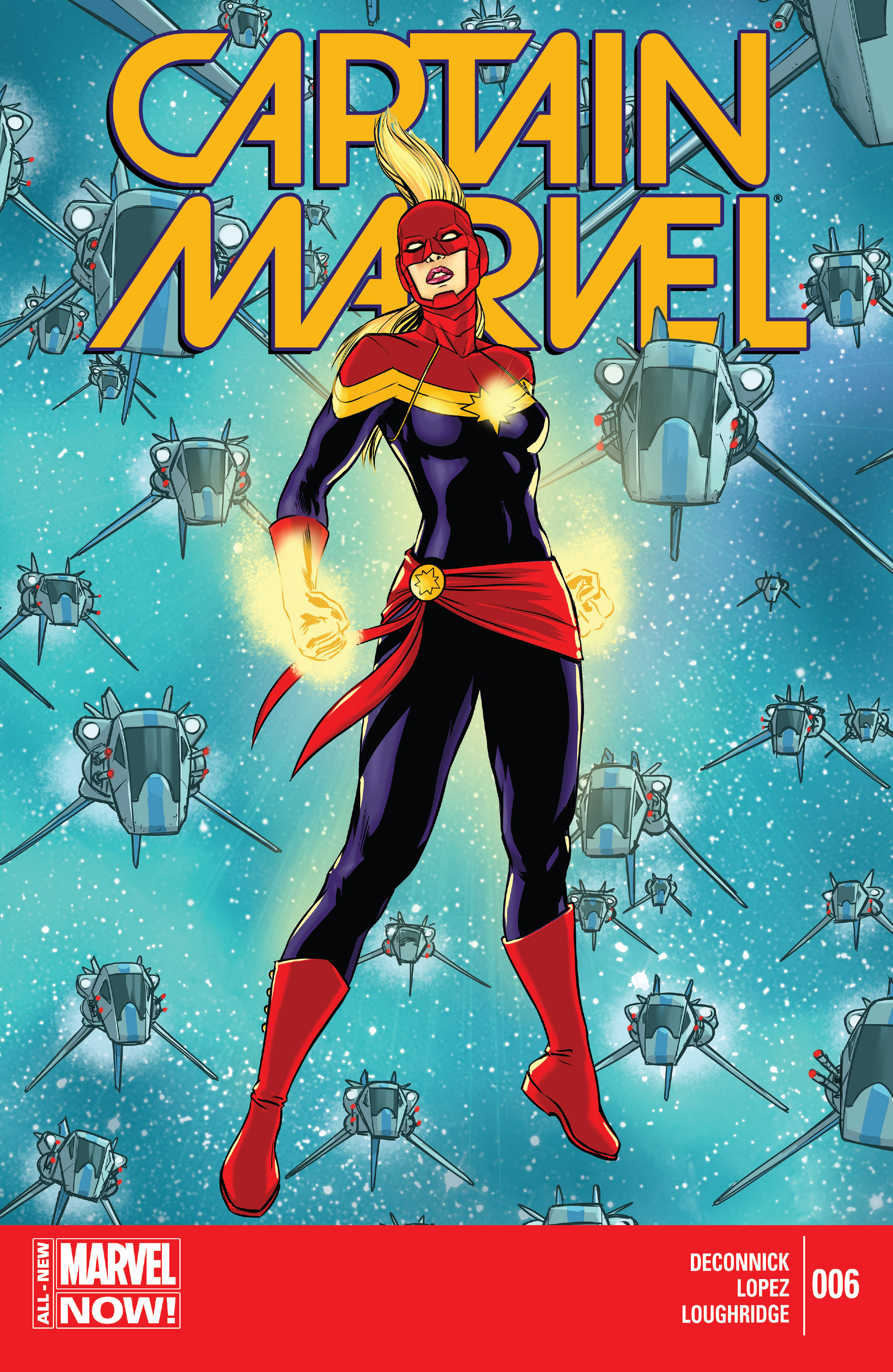 Captain Marvel (2014) 6 Page 1