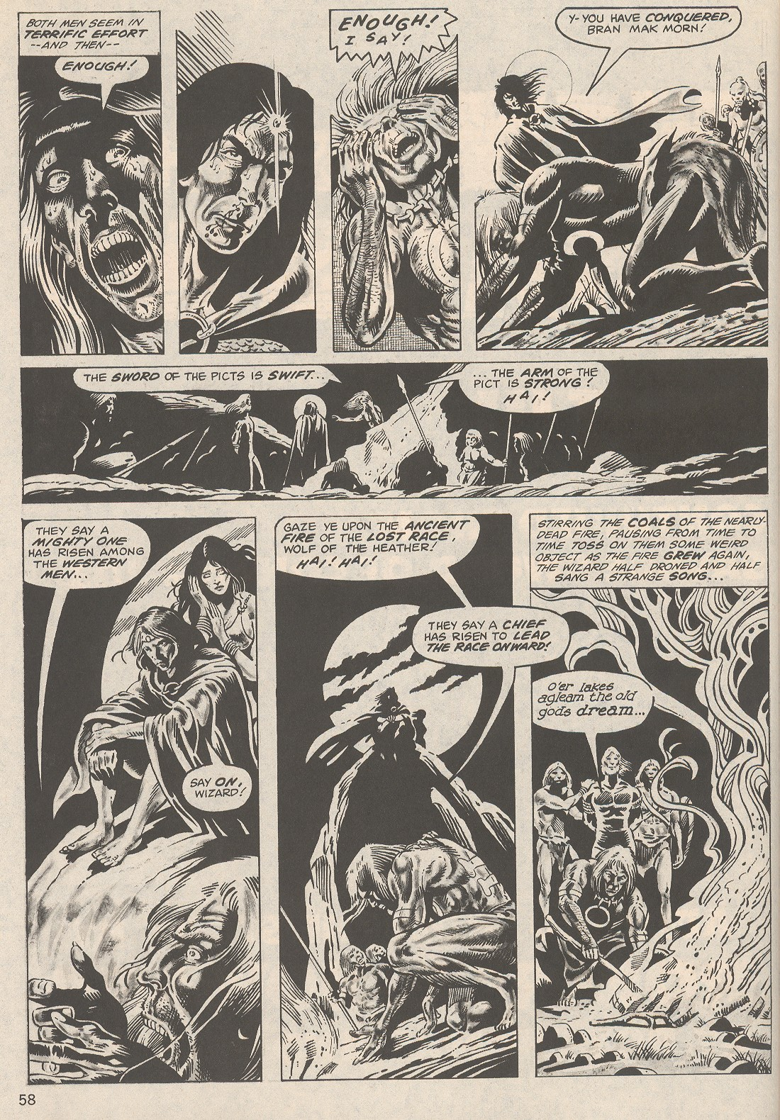 The Savage Sword Of Conan Issue #104 #105 - English 58