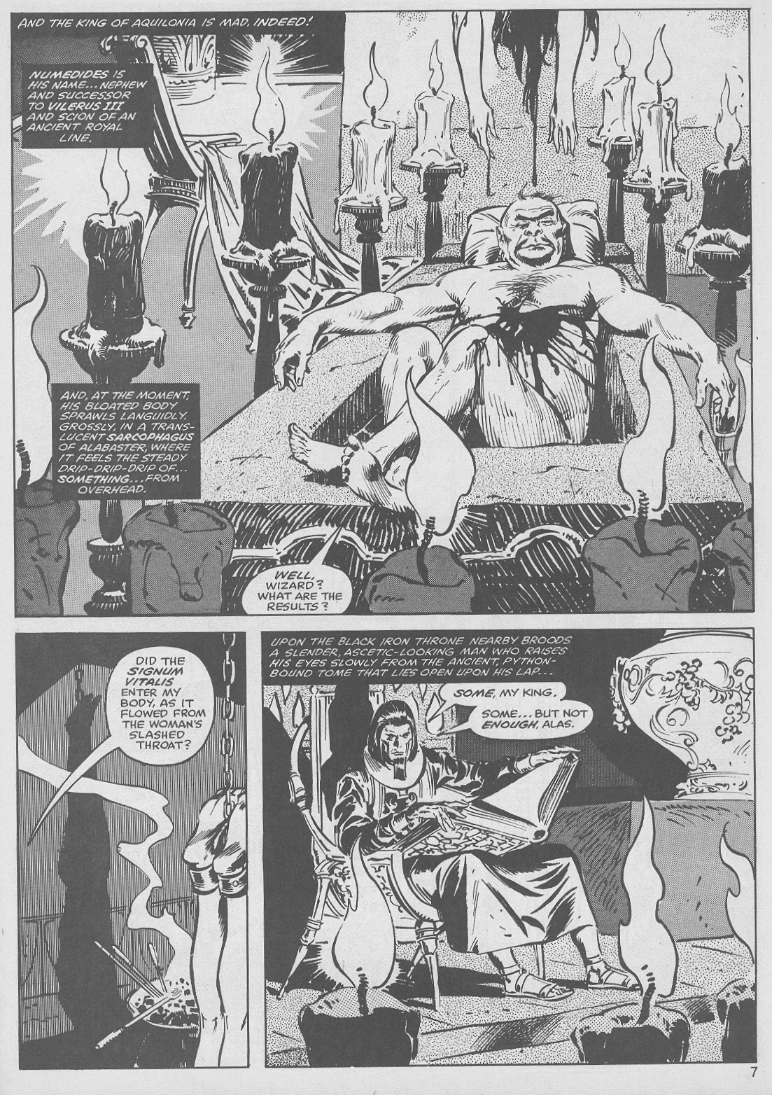 The Savage Sword Of Conan Issue #49 #50 - English 7