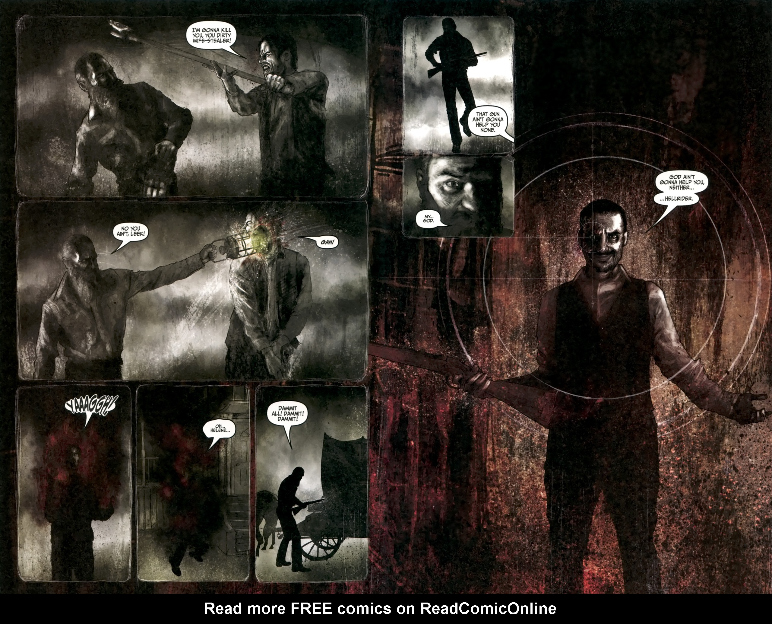 Read online Silent Hill: Past Life comic -  Issue #4 - 12