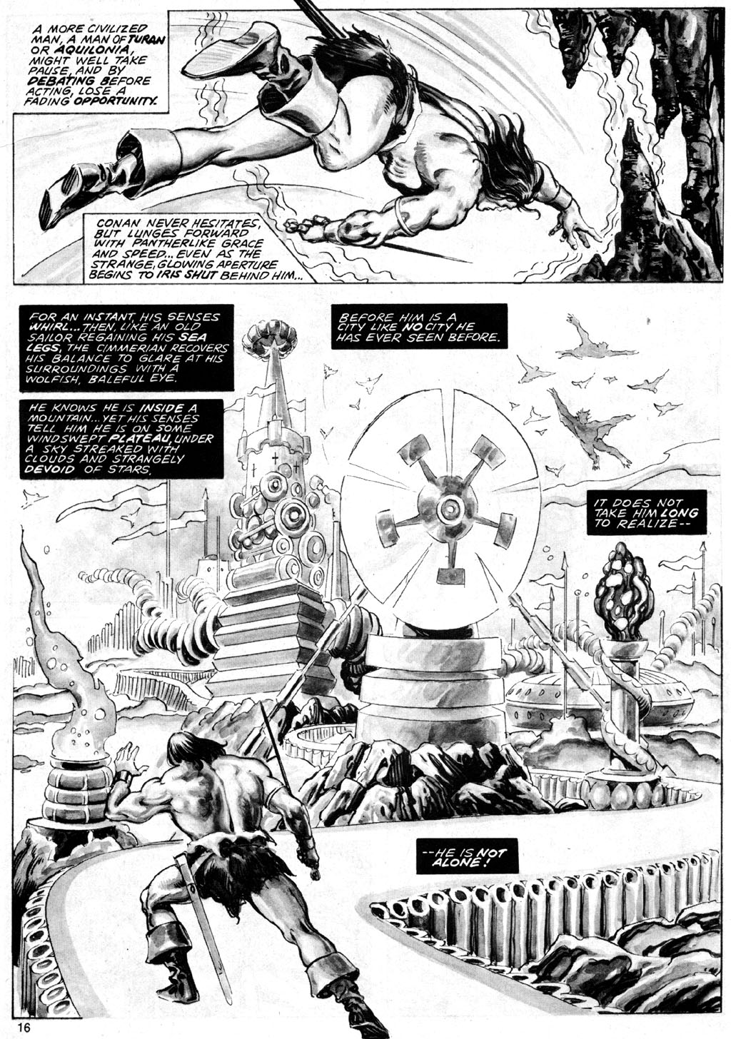 The Savage Sword Of Conan Issue #69 #70 - English 16