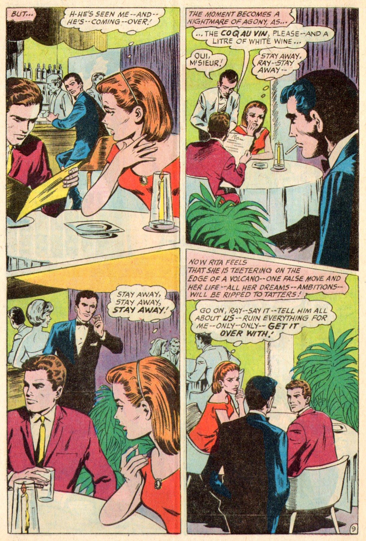 Read online Secret Hearts comic -  Issue #117 - 28