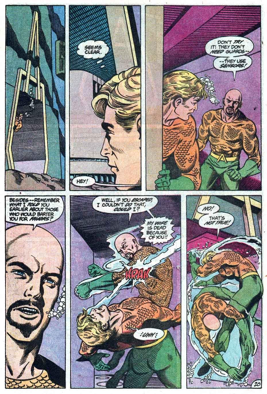 Aquaman (1989) Issue #1 #1 - English 21