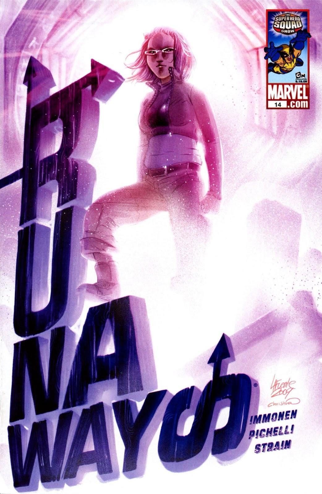 Runaways (2008) Issue #14 #14 - English 1