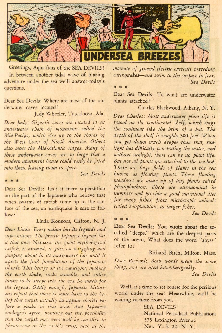 Read online Sea Devils comic -  Issue #8 - 25