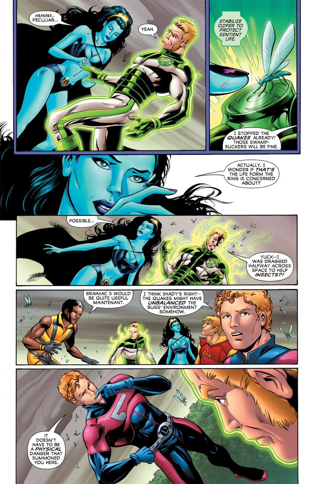 Legion of Super-Heroes (2010) Issue #3 #4 - English 27