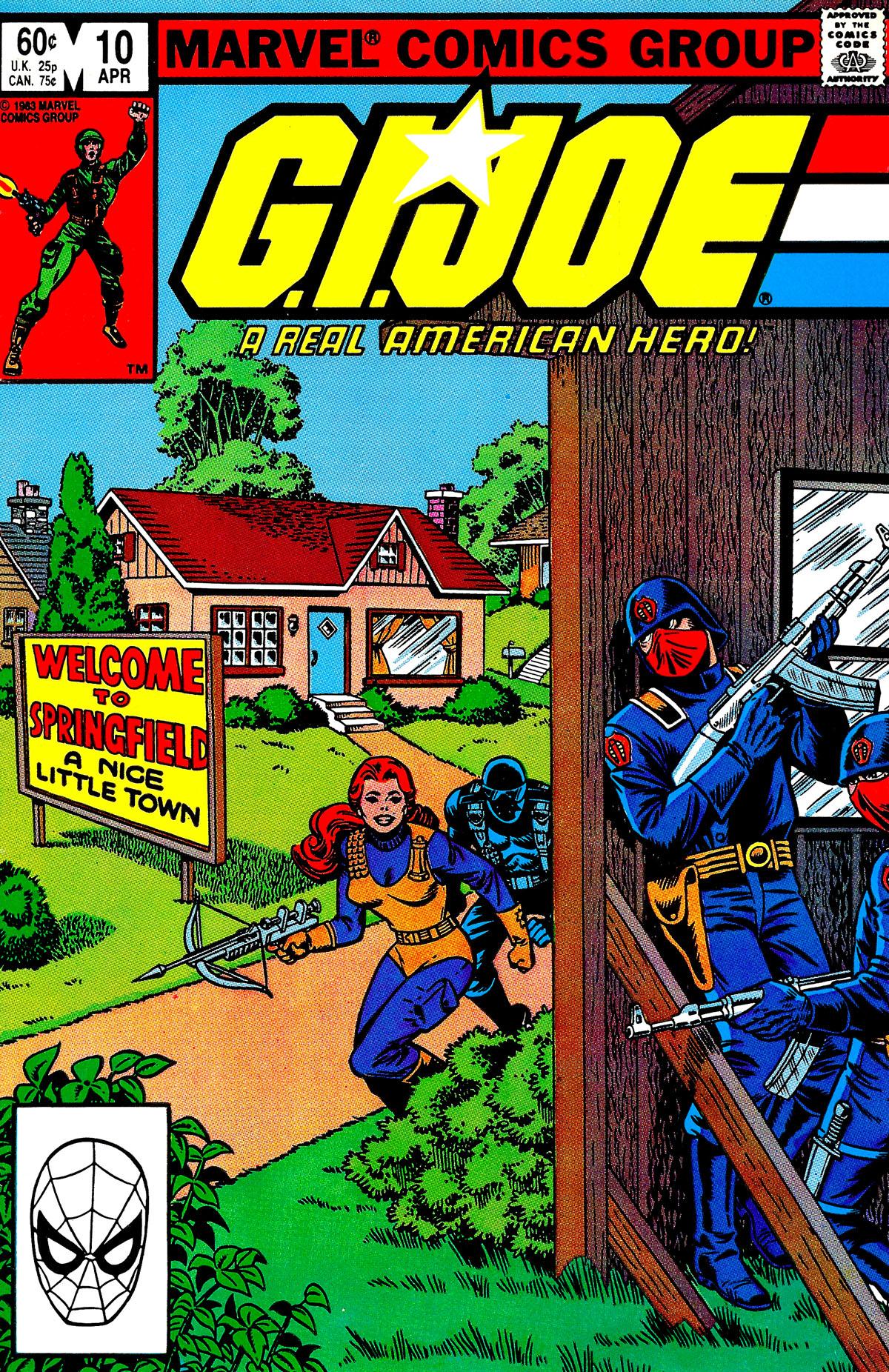 G.I. Joe: A Real American Hero 10 Page 1