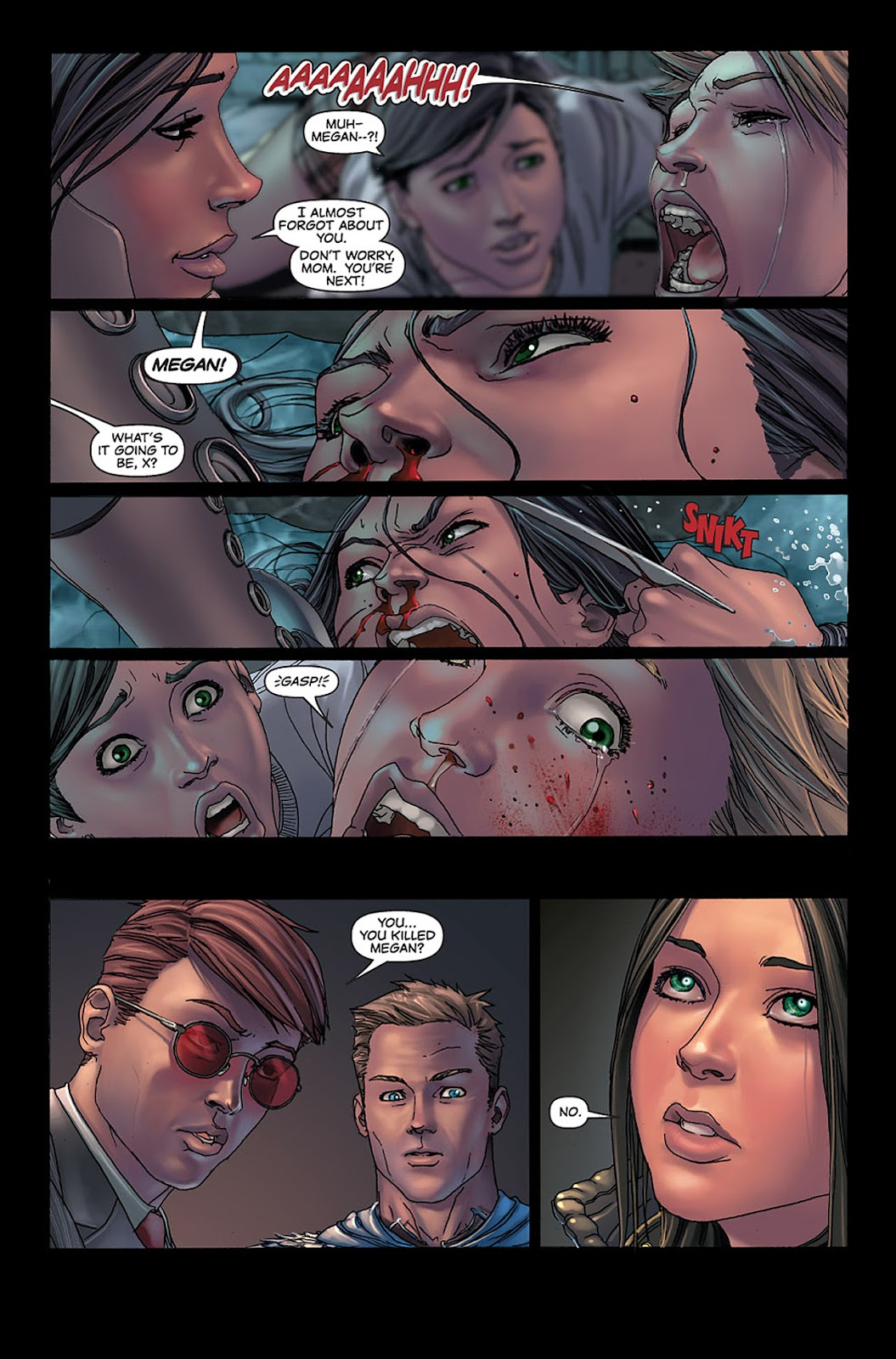 X-23: Target X Issue #5 #5 - English 11