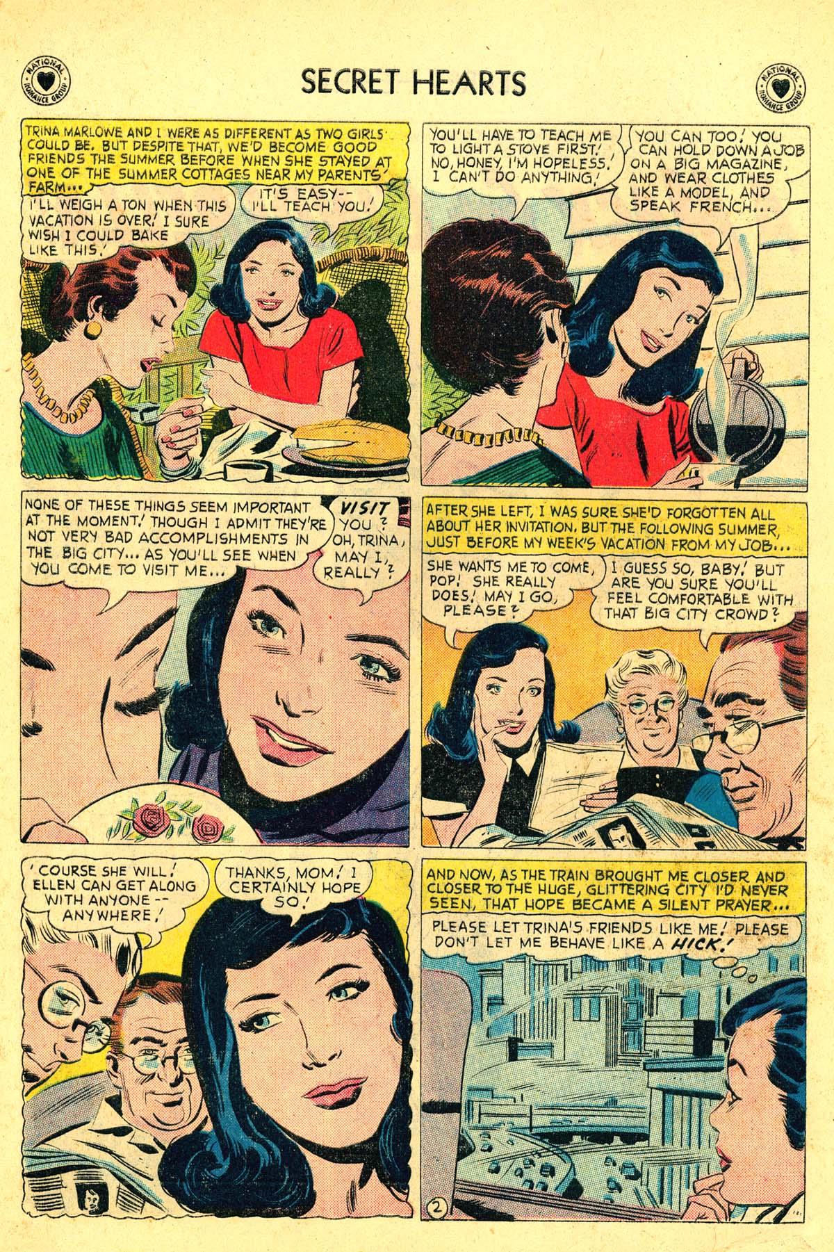 Read online Secret Hearts comic -  Issue #54 - 20