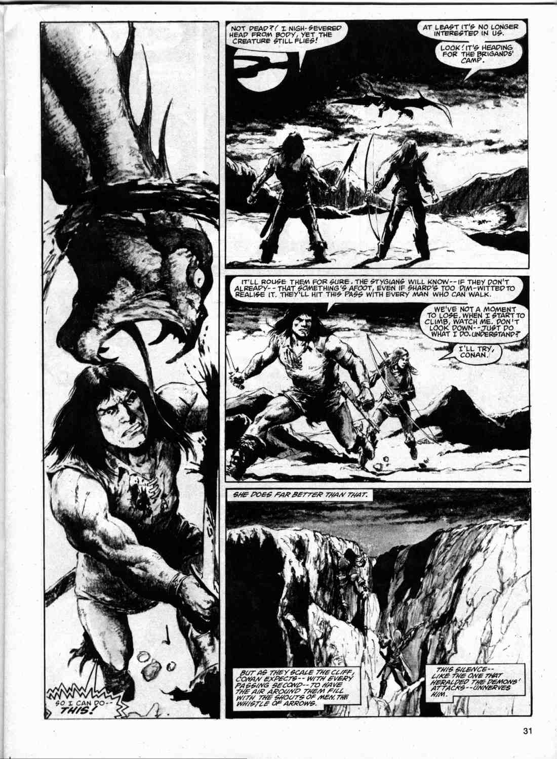 The Savage Sword Of Conan Issue #74 #75 - English 30