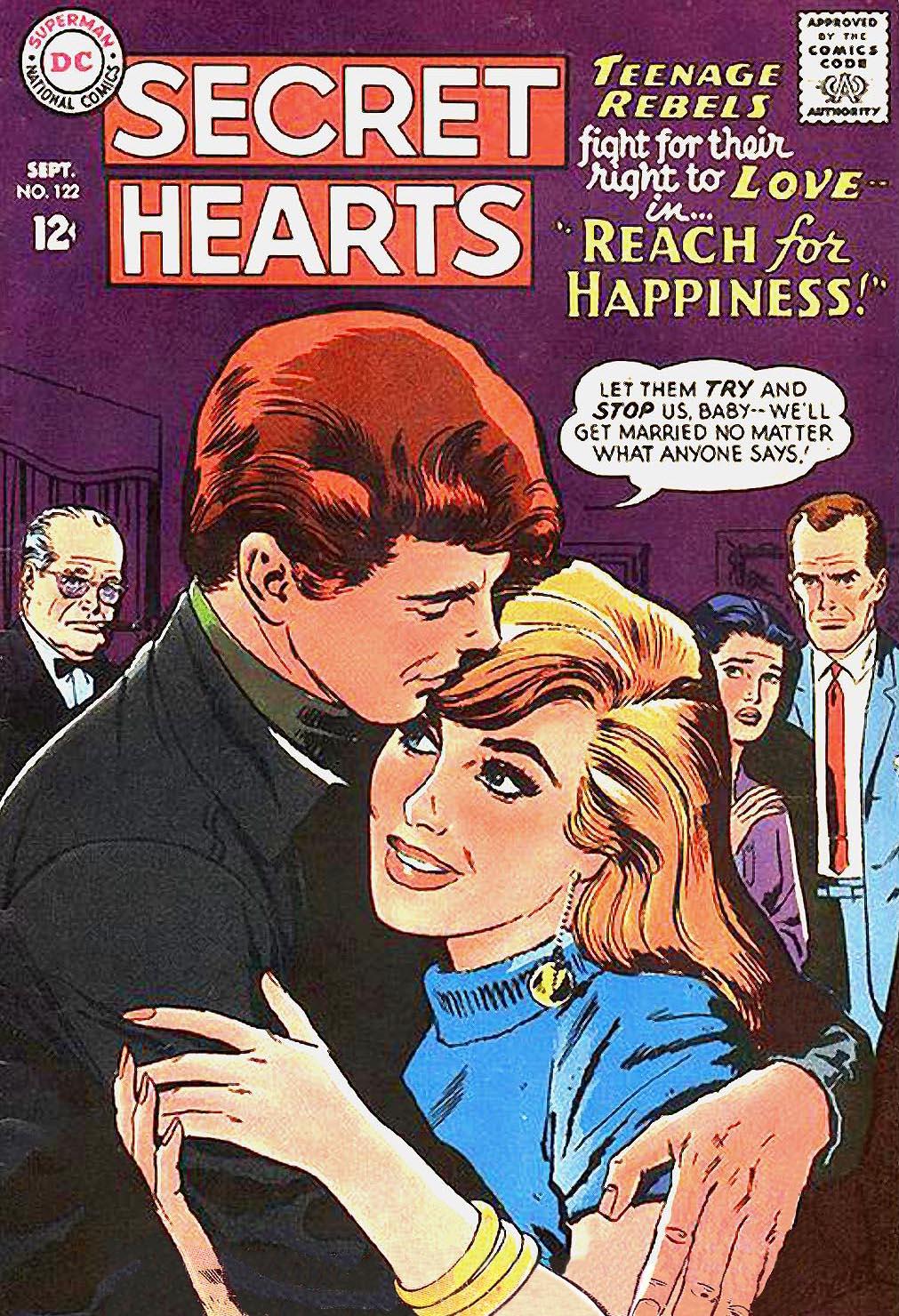 Read online Secret Hearts comic -  Issue #122 - 1