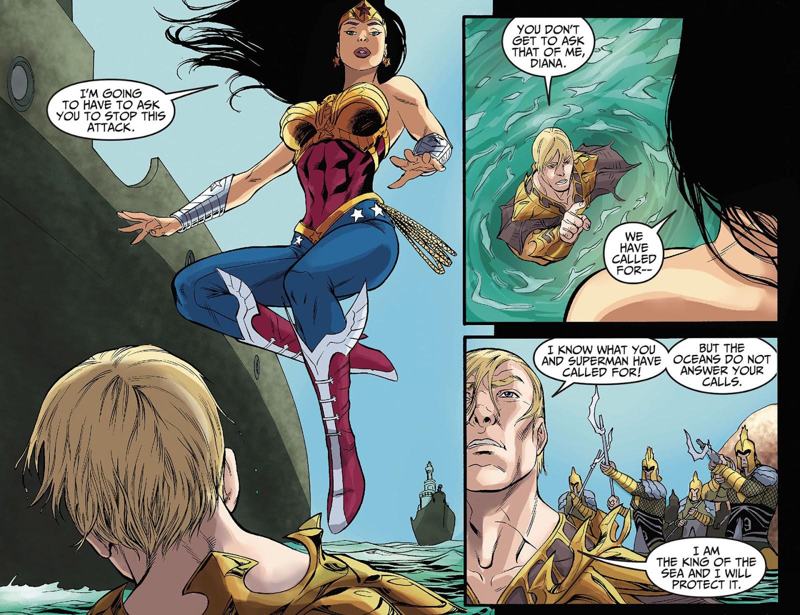 Injustice: Gods Among Us [I] Issue #10 #11 - English 19