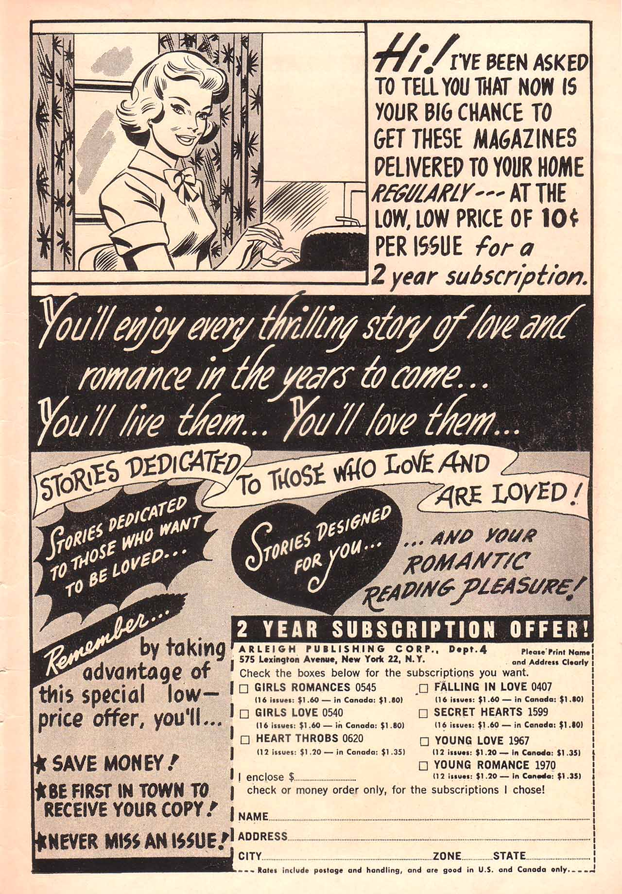 Read online Secret Hearts comic -  Issue #94 - 35
