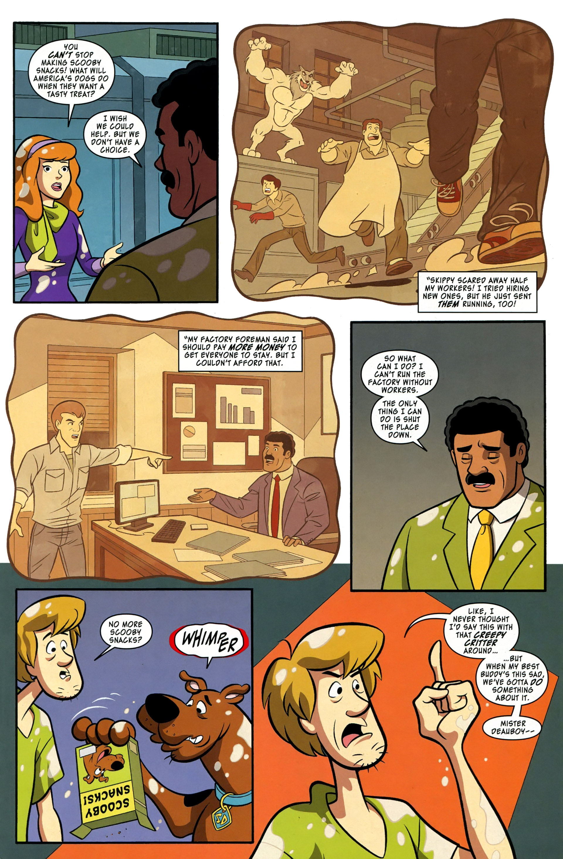 Read online Scooby-Doo: Where Are You? comic -  Issue #37 - 7