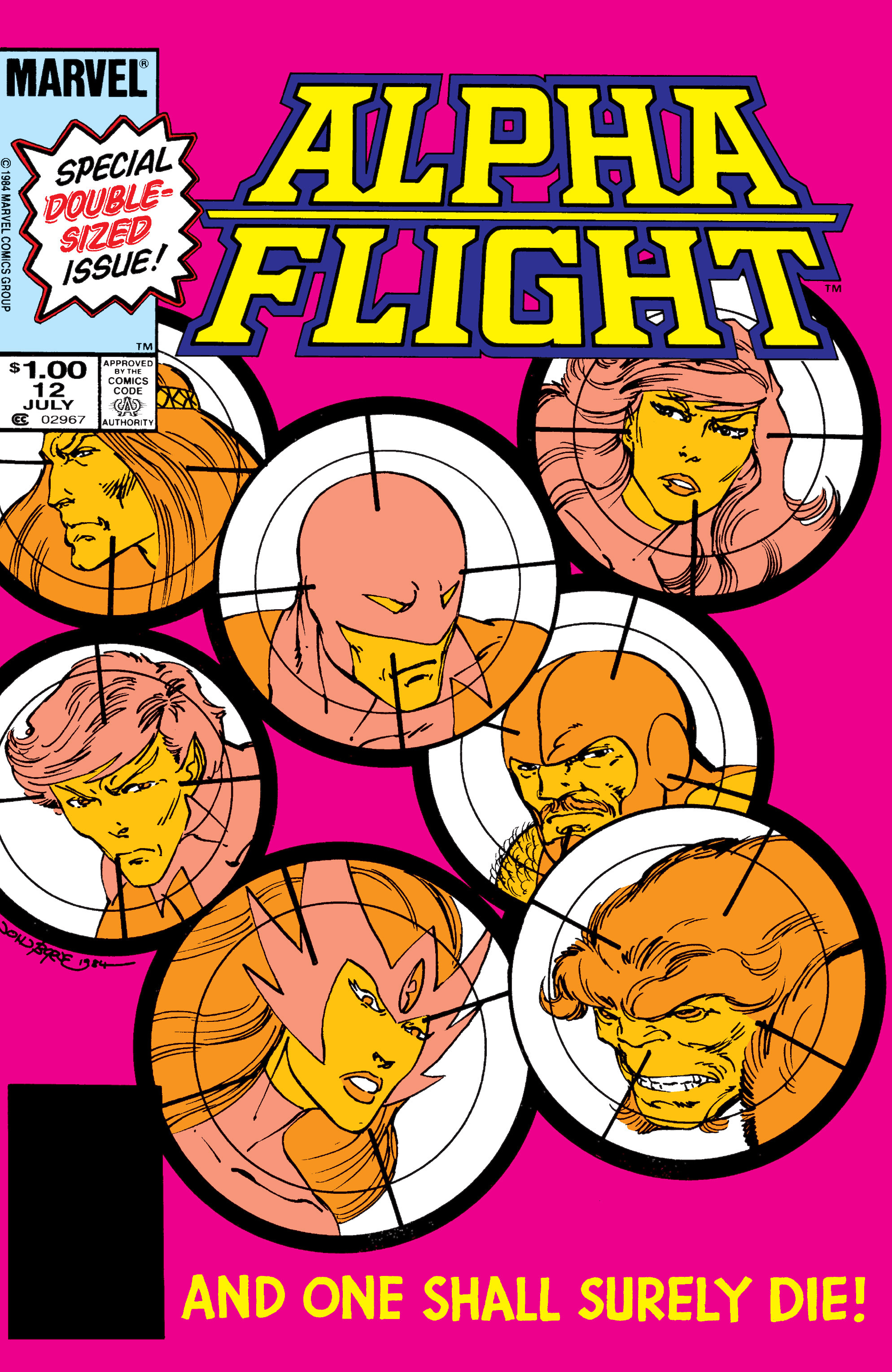 Alpha Flight (1983) 12 Page 1