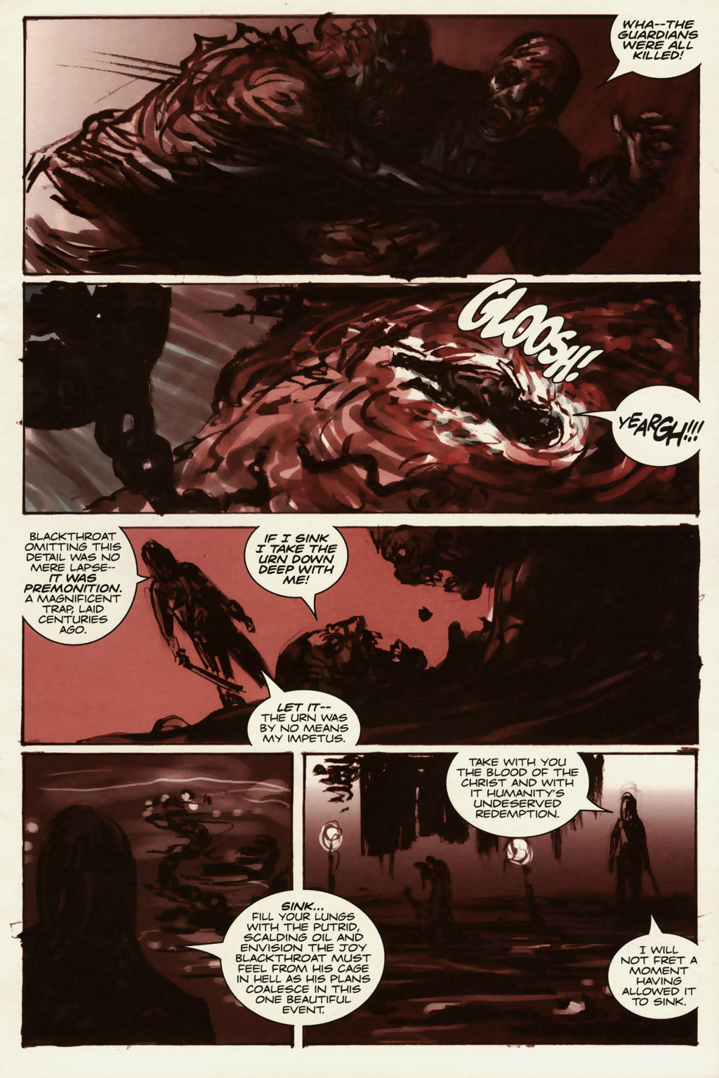 Read online Sea of Red comic -  Issue #13 - 16