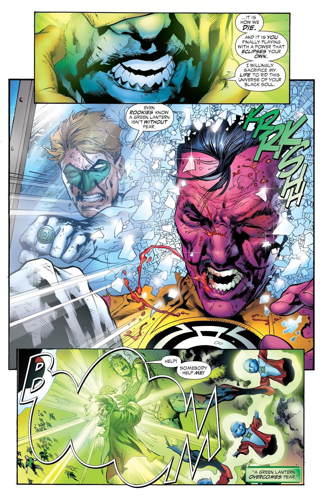 Green Lantern: The Sinestro Corps War Full #1 - English 280