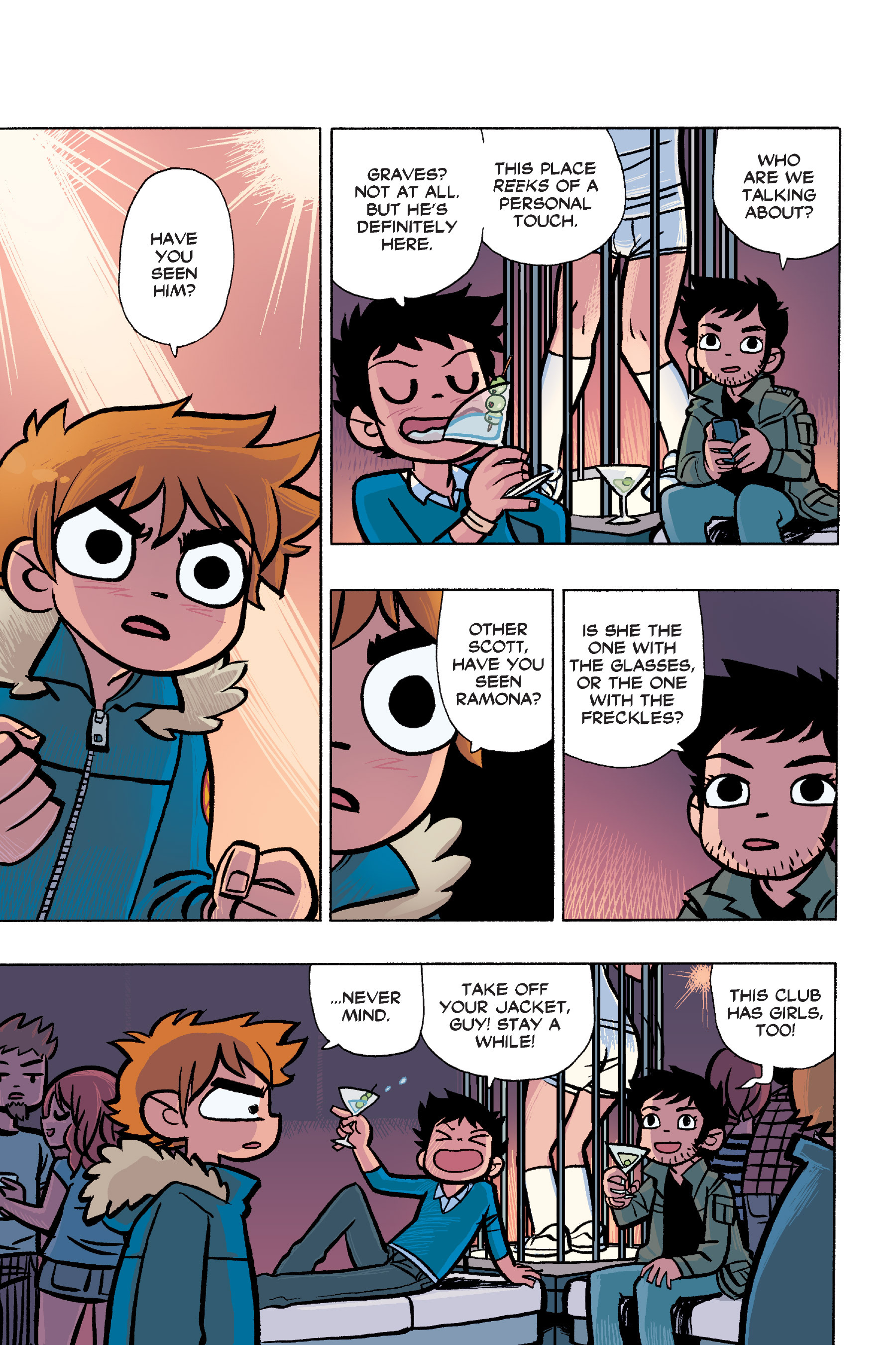 Read online Scott Pilgrim comic -  Issue #6 - 102