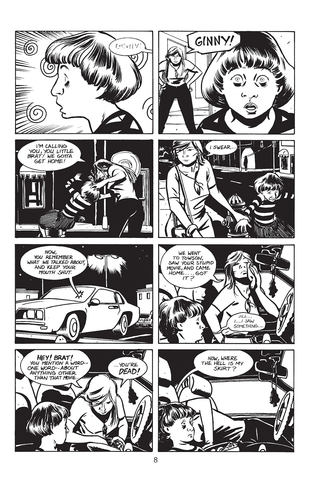 Stray Bullets Issue #2 #2 - English 10